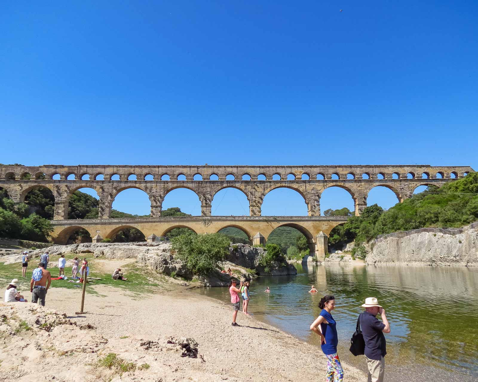 Pont Du Gard at Nimes, France
