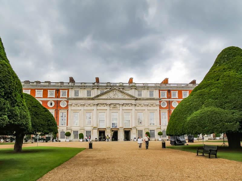 Hampton Court Palace Privy Garden