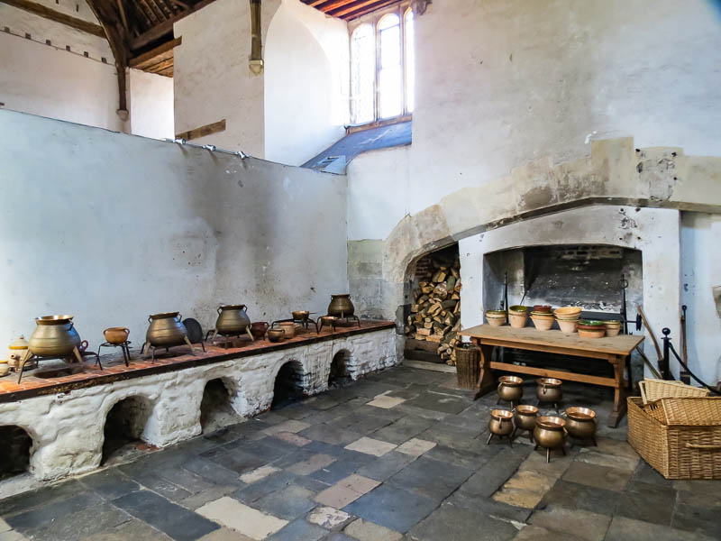 Hampton Court kitchen space