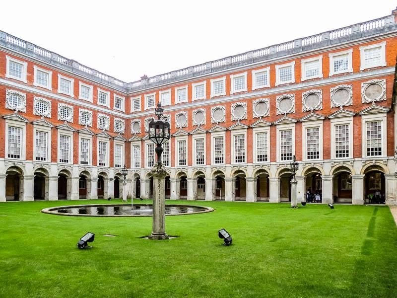 Courtyard at Hampton Court