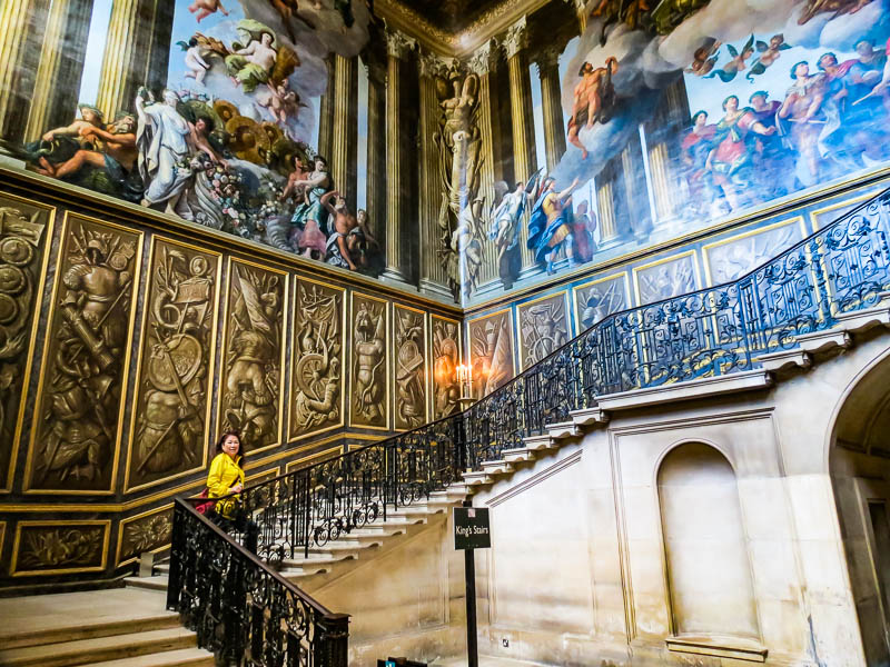 Grand staircase Hampton Court Palace