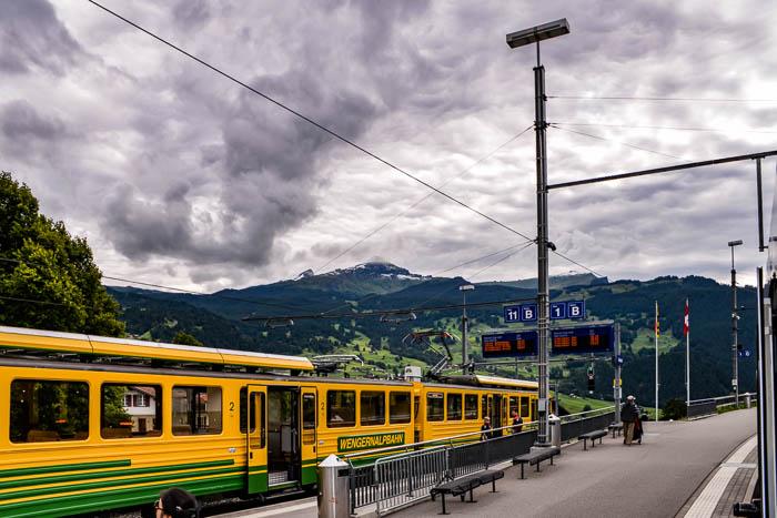 Kleine Scheidegg rail station