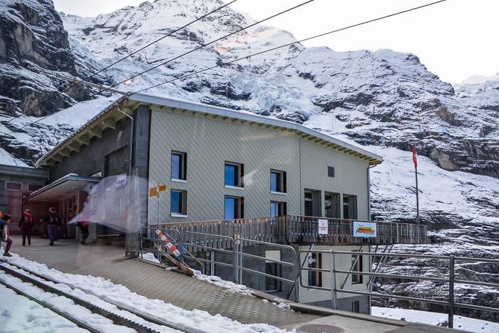 Eigergletscher rail station