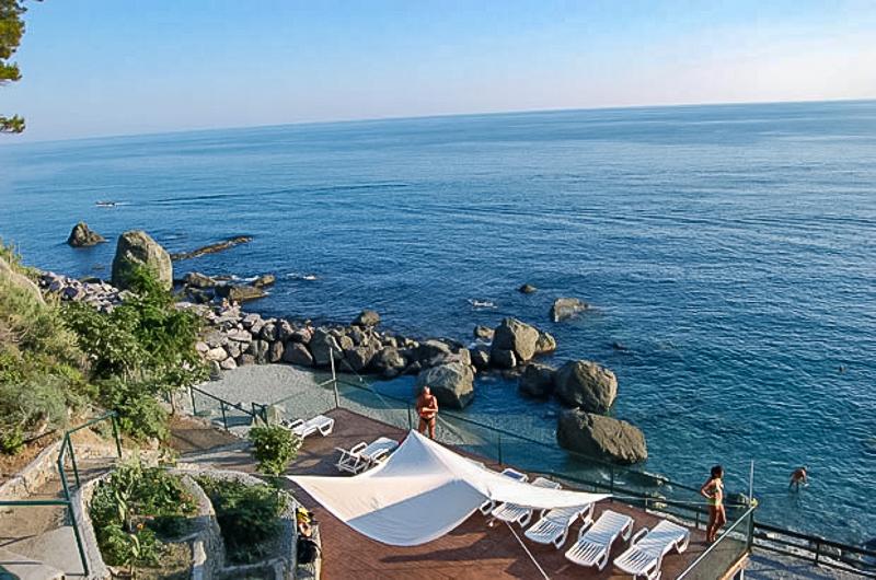 La Francesca view of the sea