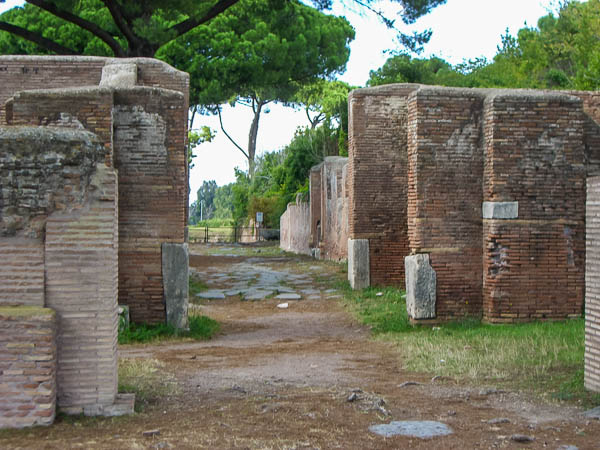 Ostia buildings