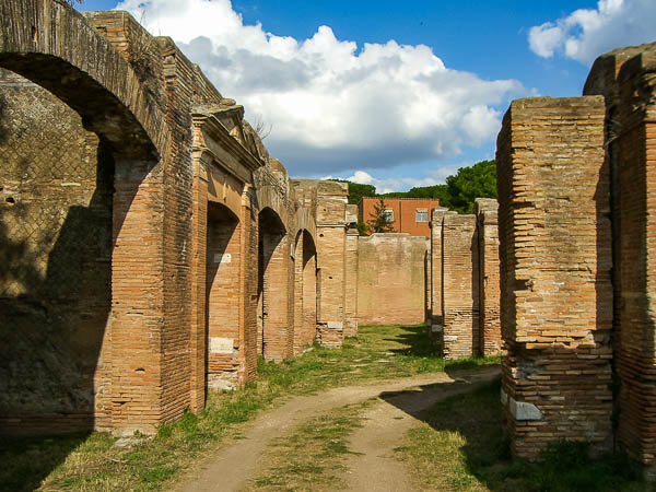 Ostia Antica warehouses