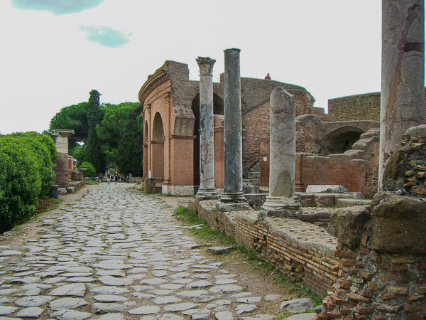Ostia Antica theater entrance