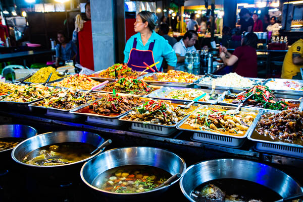 Food stall in Bangkok
