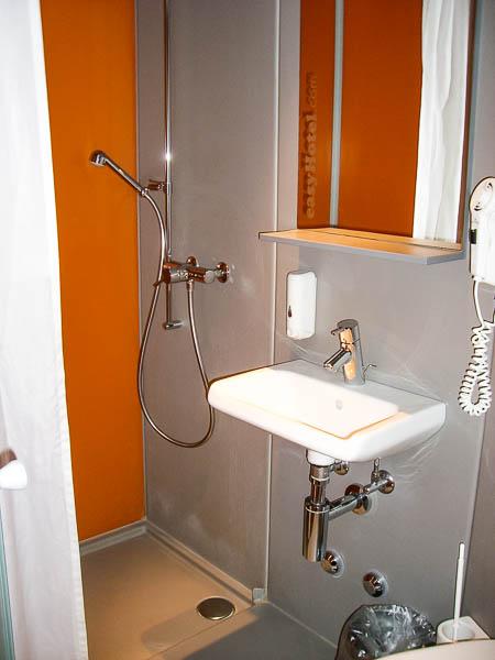 easyHotel bathroom