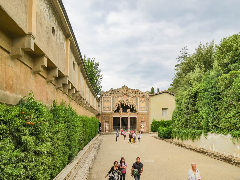 Vasari Corridor tour end