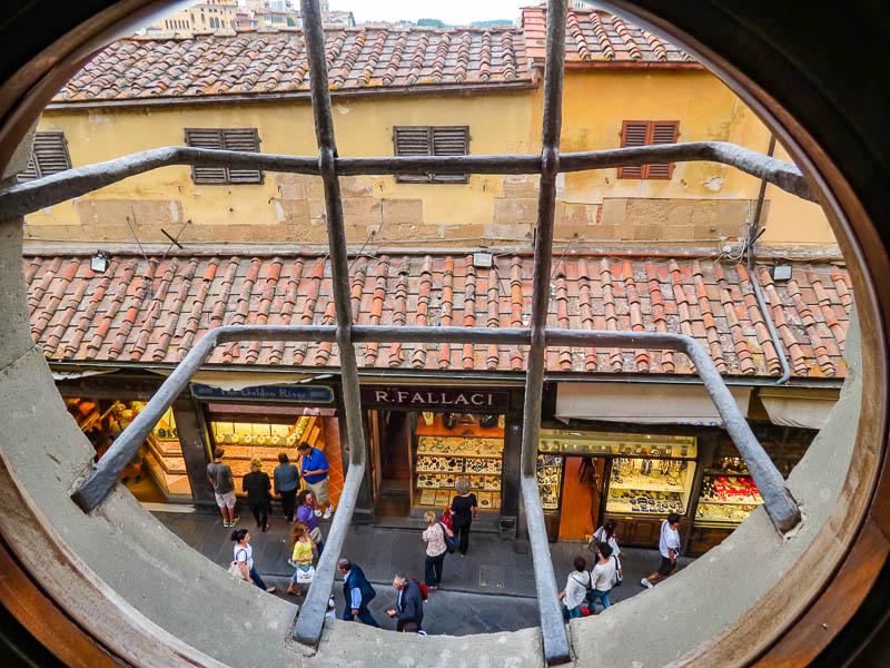 Vasari Corridor Window