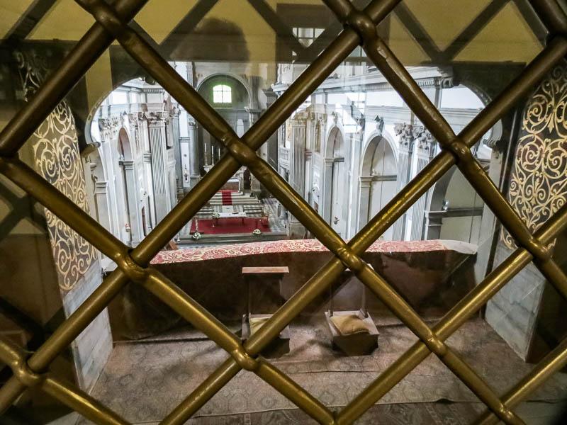 Vasari Corridor chapel view
