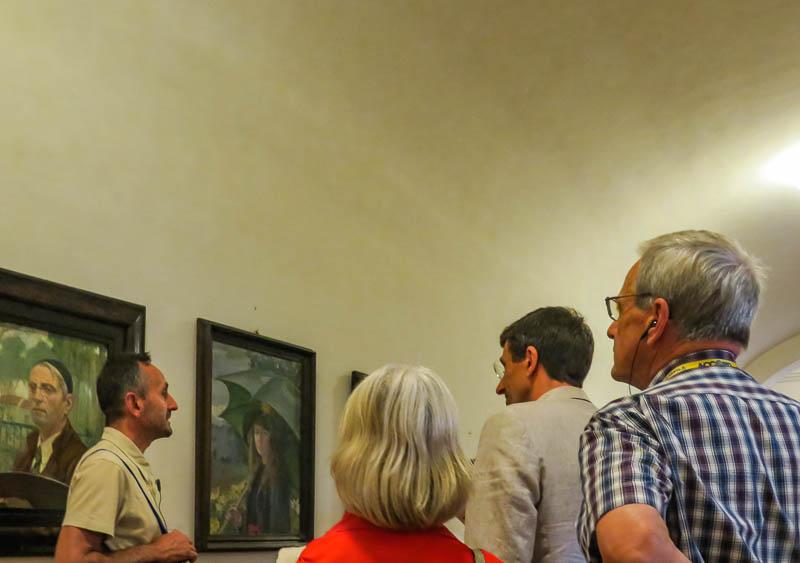 Paintings in the Vasari Corridor