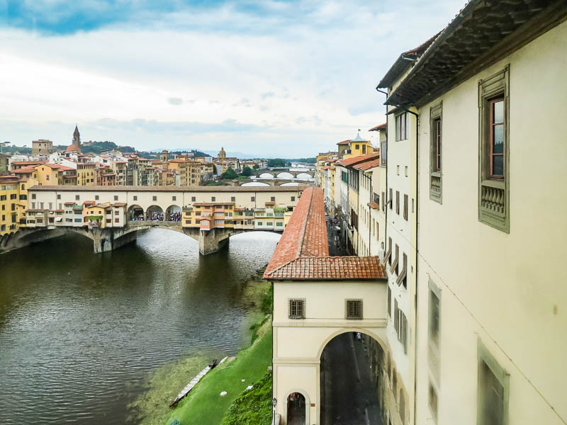 Walking The Vasari Corridor – In The Footsteps Of The Medici